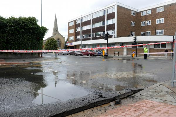 Repairs to burst Surbiton water pipe will continue into the weekend
