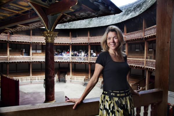 Janie Dee stars as Titania in the Globe Theatre's production of A  Midsummer Night's Dream