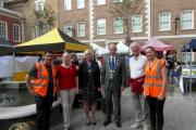 Thanks Bamber: Richmond Farmers' Market relaunched last week