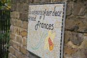 Alpha Road mosaic unveiled in memory of late councillor Frances Moseley