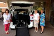 New service: Councillor Christine Elmer, Councillor Tannia Shipley and Gail McKenzie, Elmbridge Borough Council officer