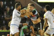 Bang in form: Harlequins Nick Easter has played the best rugby of his career in the past few seasons
