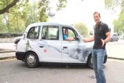 Grab a ride in the Austria Quiz Taxi for the chance to win a ski holiday
