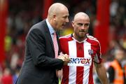 Confident: Bees boss Mark Warburton is concentrating on the visit of Fulham