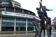 The home of rugby: Twickenham stadium