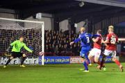 Back in the game: Jack Smith fired Dons level in the FA Cup replay win over York City              SP88612