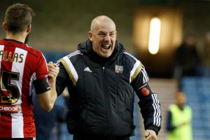 Brentford will not shy away from the challenge, says boss