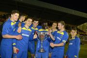 Bright future: AFC Wimbledon's young guns are firing themselves into first team contention