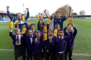 AFC Wimbledon: Pupils get inspired to pen letters to their Dons heroes