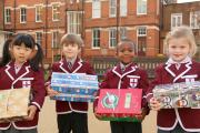 Thanks kids: St George's students spreading the joy