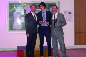 Young All England Club tennis stars honoured at glitzy awards