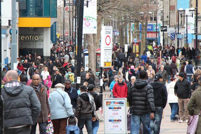 The high streets are expected to be packed today