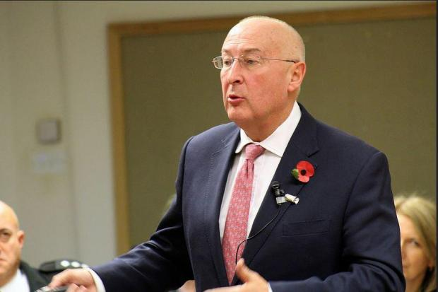 Surrey's police and crime commissioner Kevin Hurley