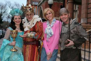 Our man George Odling makes stage debut in Spamalot