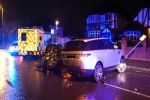 London Ambulance Service called out after crash in Malden Road