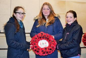 Wreath laying: Step on Stage went to Belgium