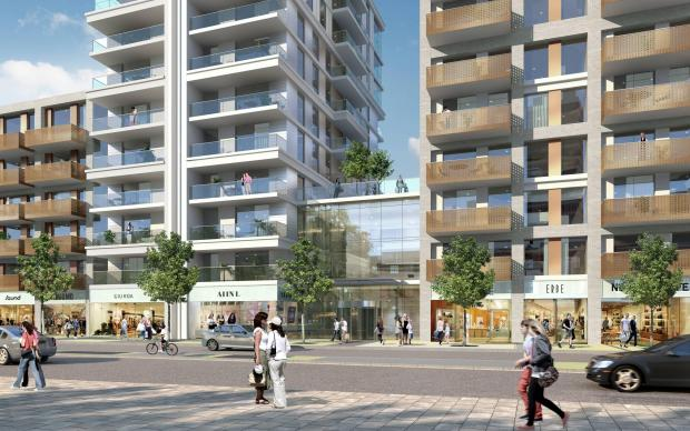 ... Three new tower blocks proposed as part of Tolworth Tower regeneration