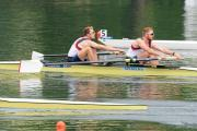 On the water front: Olympic bronze medalist Will Satch, right, was in action for Leander Rowing Club in Kingston on Saturday