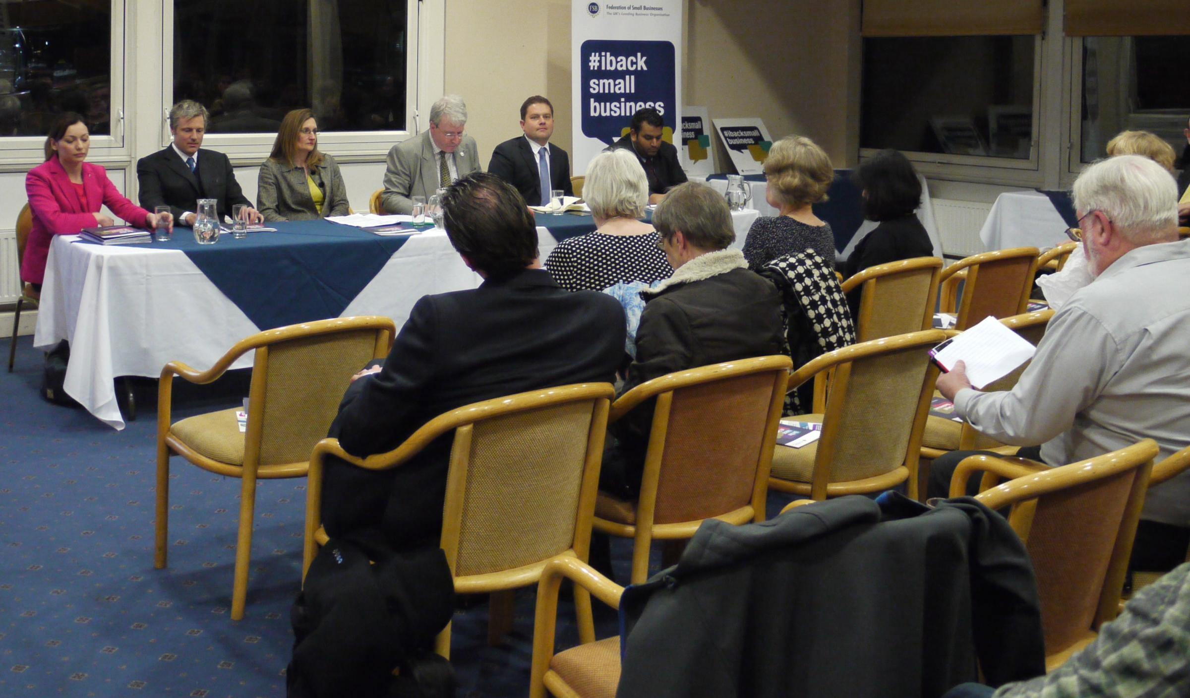 Richmond Park candidates go head-to-head at Federation of Small Businesses hustings