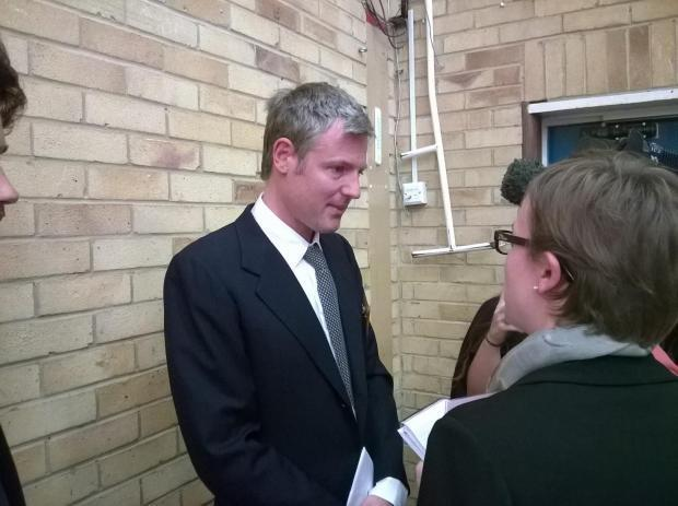 MP Zac Goldsmith after his win