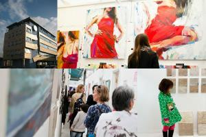 Wimbledon Art Studios open for free festival-style exhibition