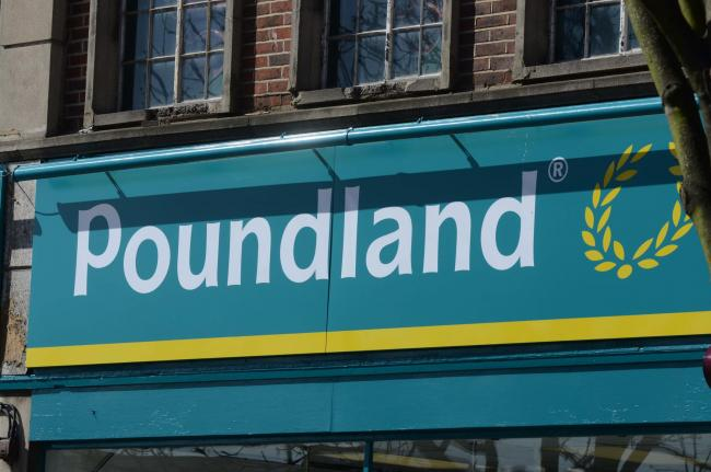 Poundland: Everything costs...... £1