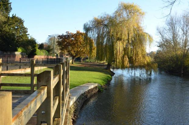 Nice: The trust was responsible for riverside regeneration
