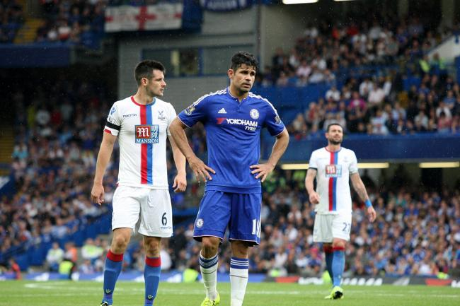 Tought times: Diego Costa and Chelsea have struggled to get going this season
