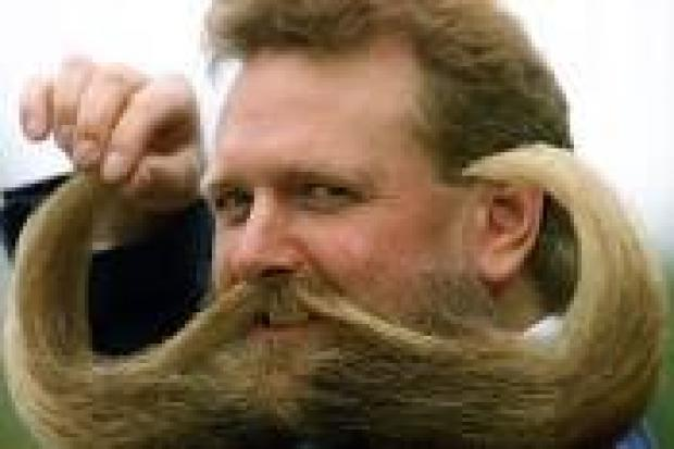 Face fuzz in Movember is cruel to animals.