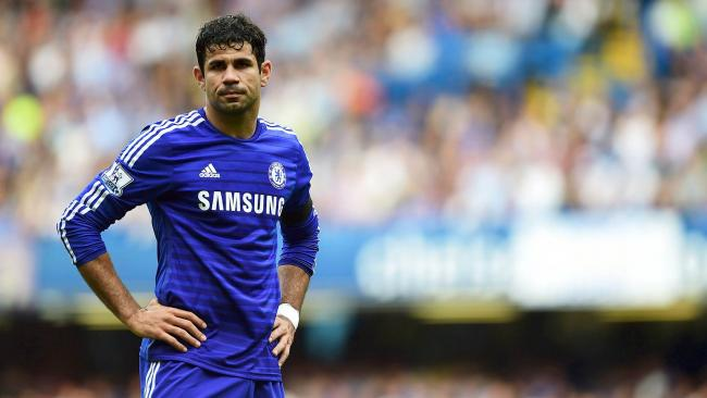 On his way out? Diego Costa's antics at White Hart Lane suggest he could be out the Chelsea door in January