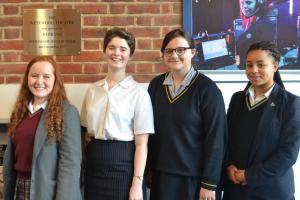 Sydenham High School  win semi-finals of Chystall public speaking  event