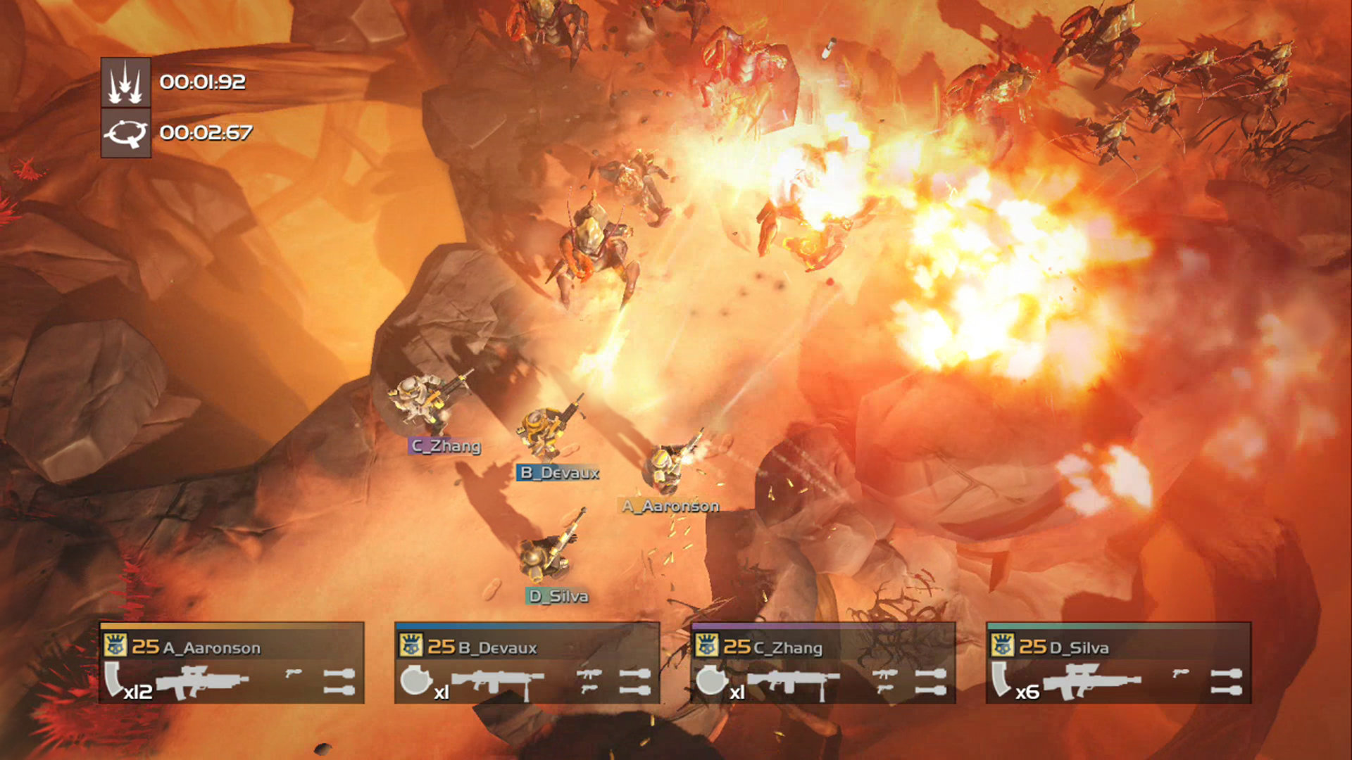 Space shooter Helldivers is one of the PlayStation Plus games for February
