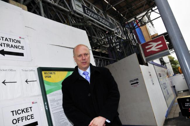 Epsom and Ewell MP Chris Grayling
