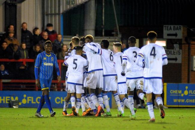 Unstoppable: Chelsea U18s are on course for a third consecutive FA Youth Trophy