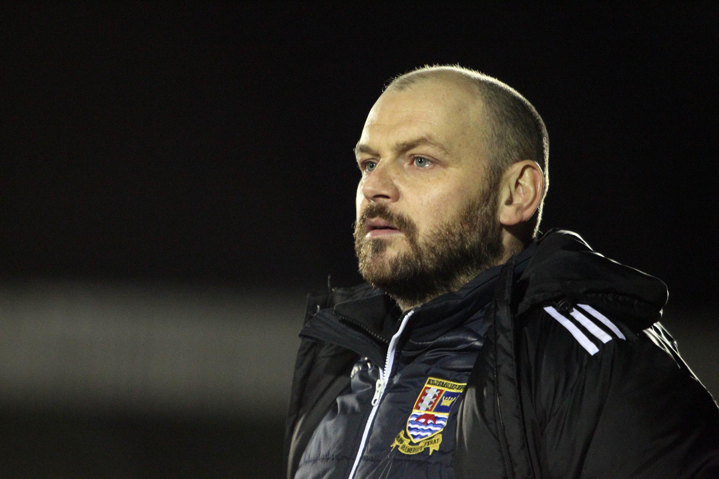 Fate: Ks' play-off chances are out of their hands, much to manager Tommy Williams' disappointment