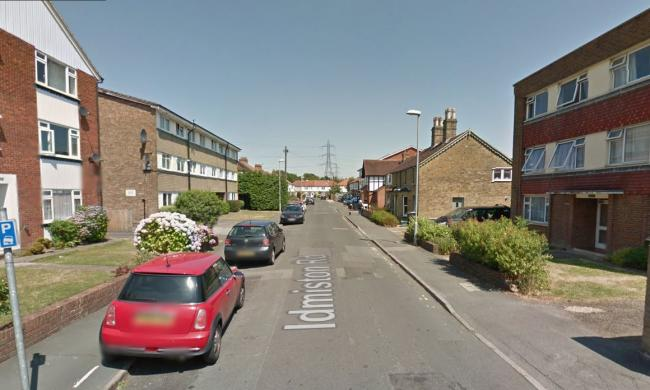 Police were called to Idminston Road at about 12.50pm on Saturday (pic: Google Maps)