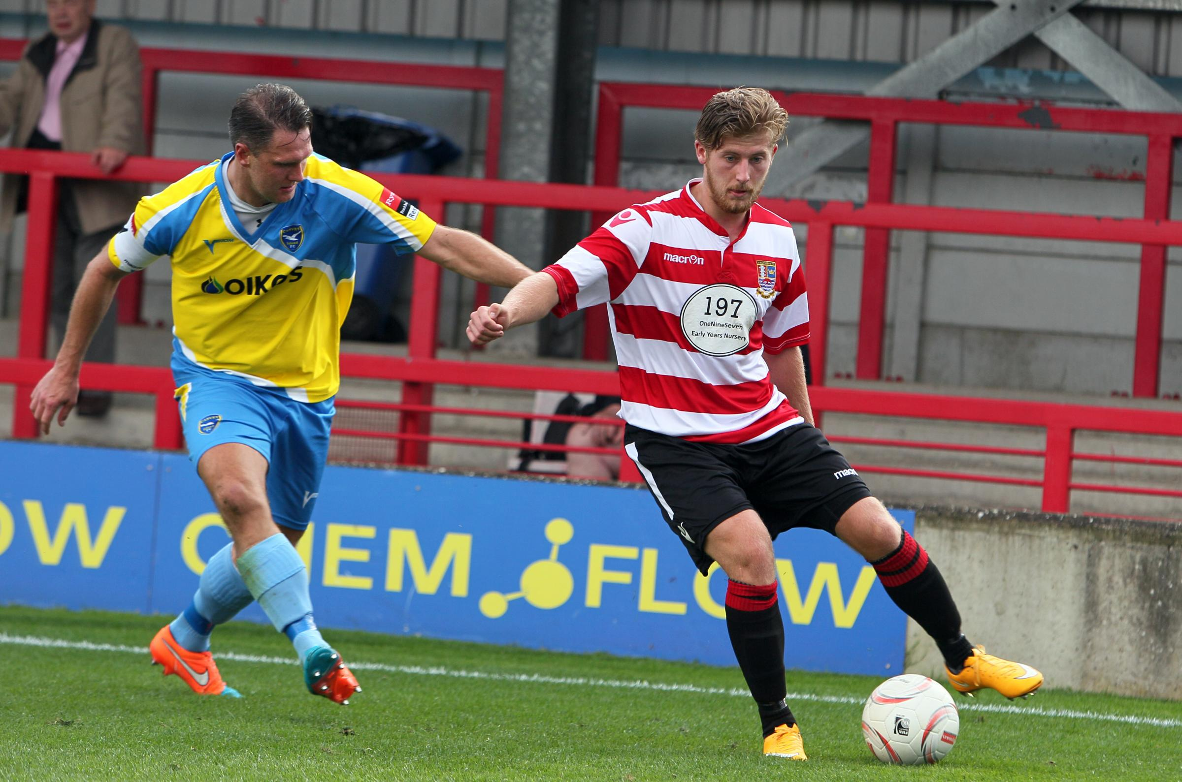 Injury hit: Former Kingstonian forward Jake Kempton needs to get a season of football under his belt to stand chance of Ks return