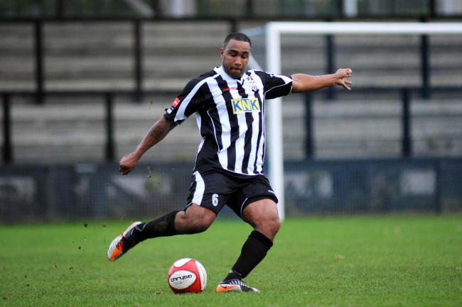 On trial: Tooting & Mitcham United defender Adam Thompson is hoping for a Kingstonian return