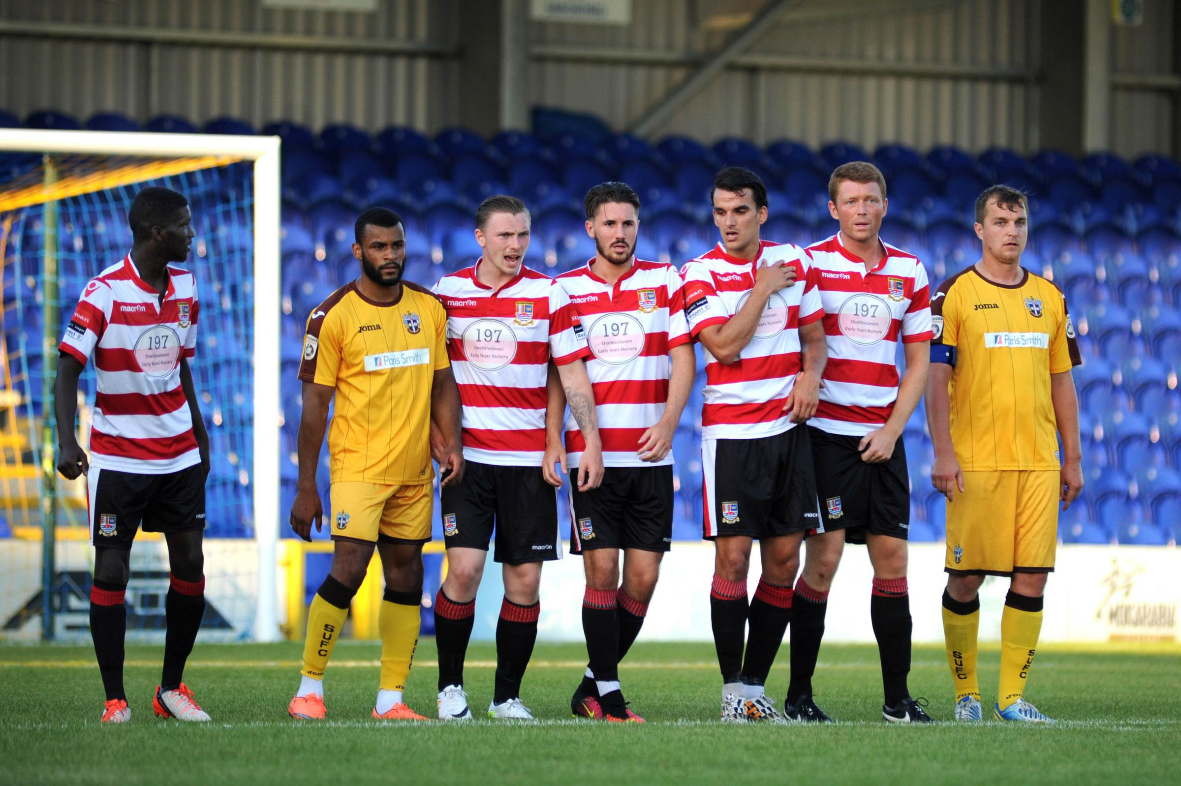 How will they line up? Kingstonian and Sutton United played out a 1-1 draw at Kingsmeadow on Wednesday night
