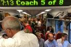 Commuter hell: Are you travelling to work on one of the most overcrowded trains in the country?