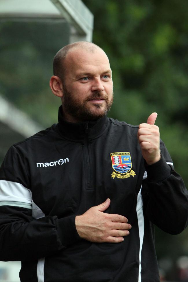 Thumbs up: Kingstonian boss Tommy Williams