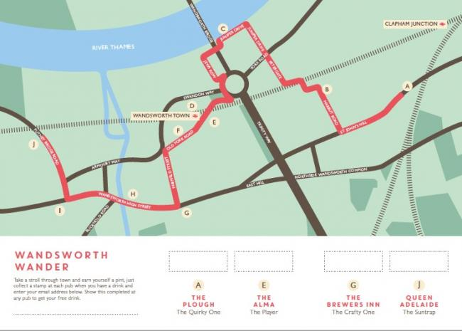 Wandsworth Wander – Brewery unveils refreshing way to explore Wandsworth