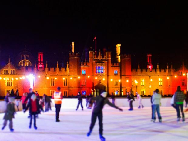 Surrey Comet: Hampton Court Palace Ice Rink