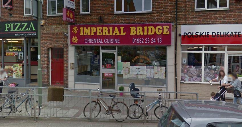 Imperial Bridge takeaway in Church Street, Walton