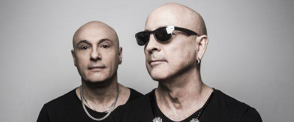 Pop group Right Said Fred perform at Banquet Records in Kingston