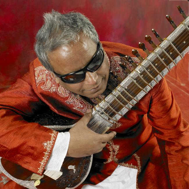 Baluji Shrivastav and friends perform at Tara Arts in Earlsfield