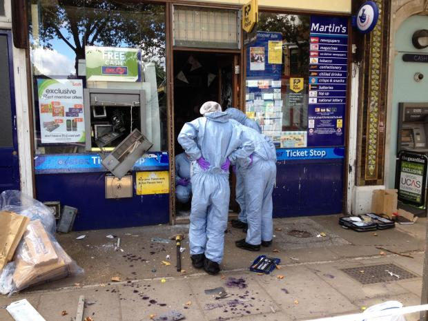 'Exploding cash machine' gang jailed following Flying Squad investigation