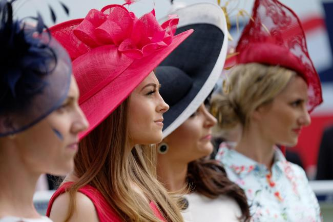 b824bbab6cc85 Style Award finalists on Ladies  Day at the Epsom Derby Festival in 2016