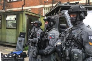 Counter Terrorism Specialist Firearms Officers as part of Operation Hercules in 2016