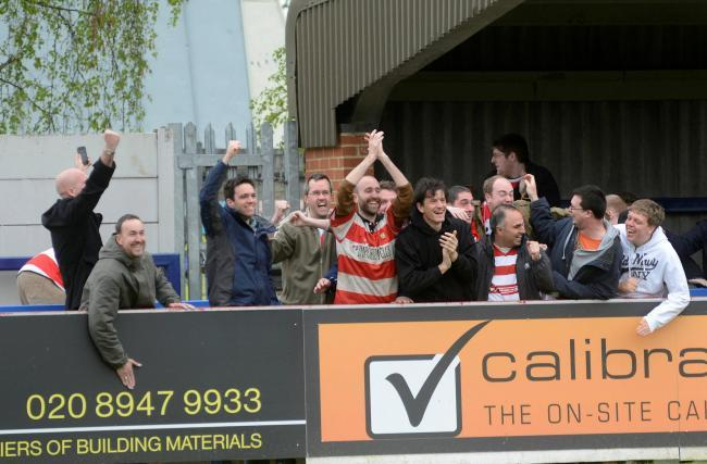 Kingstonian supporters
